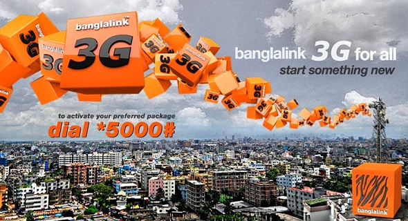 Banglalink 3G internet packages (update August 2017)