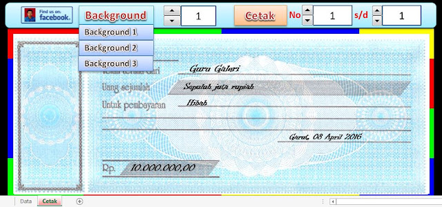 Download Gratis Aplikasi Kwitansi Excel Otomatis 3 Background