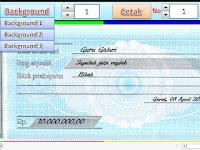 Aplikasi Cetak Kwitansi Otomatis dengan Excel Unduh Gratis