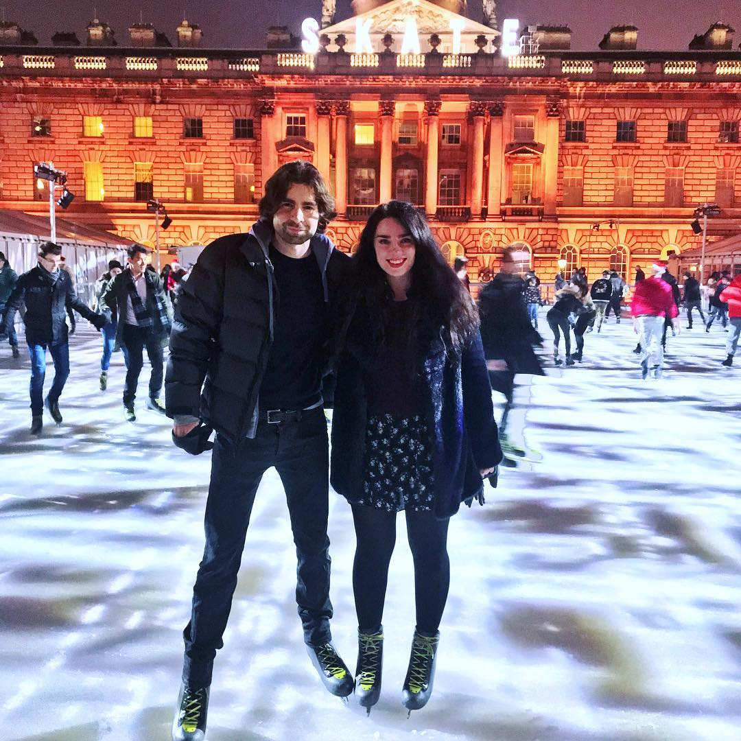 Christmas traditions, Ice Skating at Somerset House - London lifestyle blog