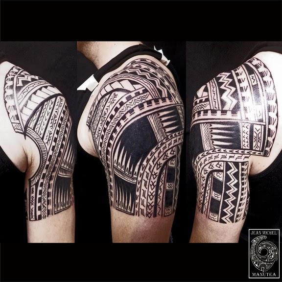 Maori Tattoo Cover Up: Tatouage Polynesien-polynesian Tattoo: Samoan Tattoo