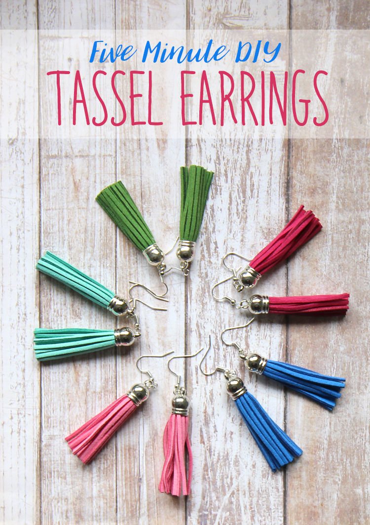 How to make handmade tassel earrings