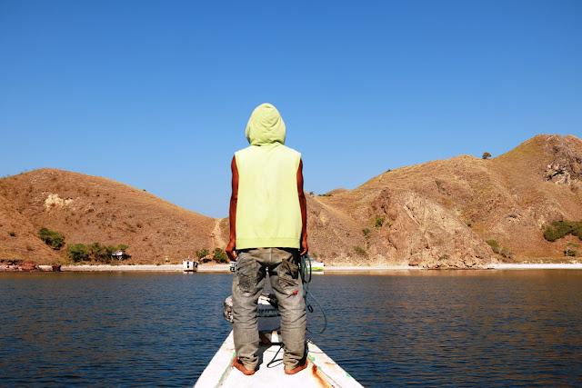 ABK perahu di Labuan Bajo