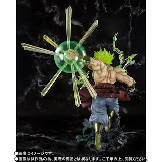 "Figuras: Abierto pre-order de Figuarts Zero Super Saiyan Broly The Burning Battles de ""Dragon Ball Z"" - Tamashii Nations"