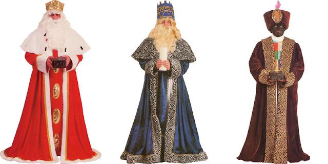 Trajes de Reyes Magos Clásicos