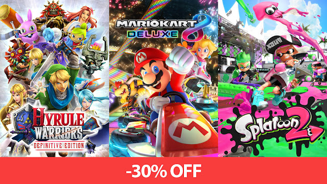 nintendo new year digital sale 2019 splatoon 2