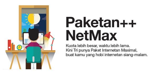 Inilah Paket Internet 3 Terbaru Dengan Kuota Super Besar