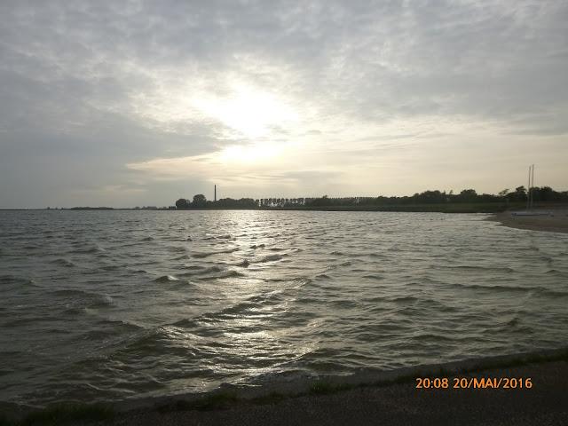 Lemmer Sonnenuntergang Strand