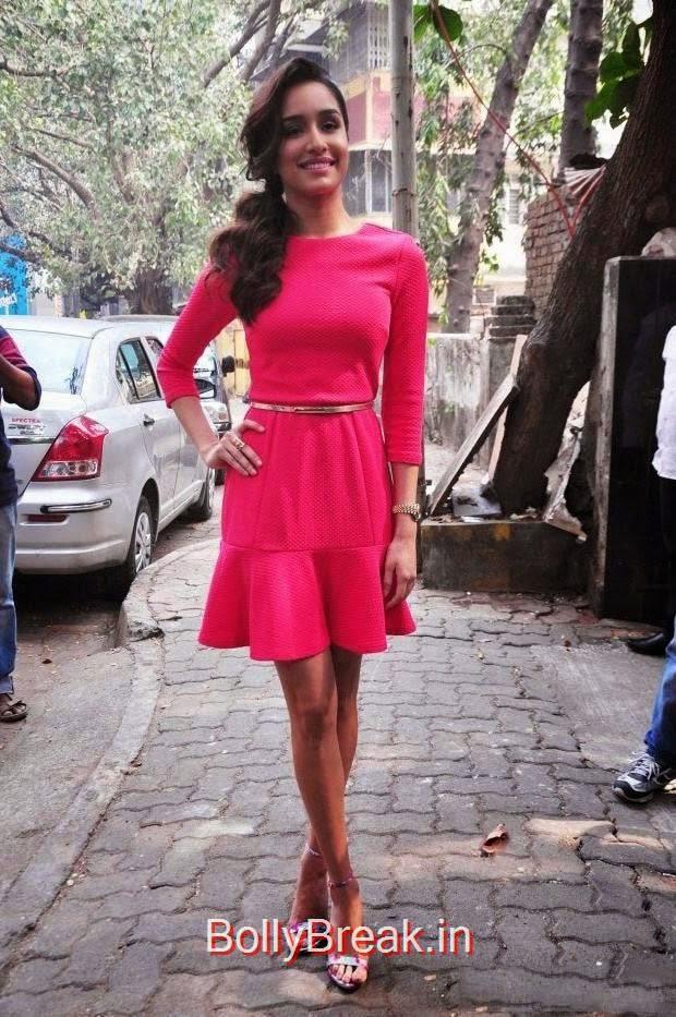 Shraddha Kapoor Photoshoot Stills, Hot Pics Of Shraddha Kapoor in red dress from LAKME Event