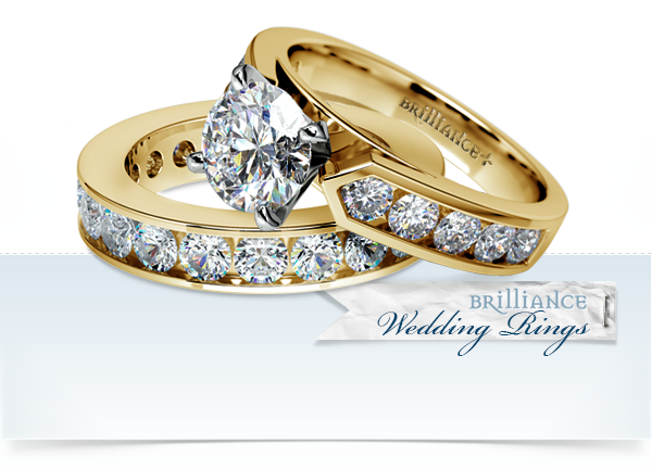 dimond wedding rings infinity band 3png - Gorgeous Wedding Rings