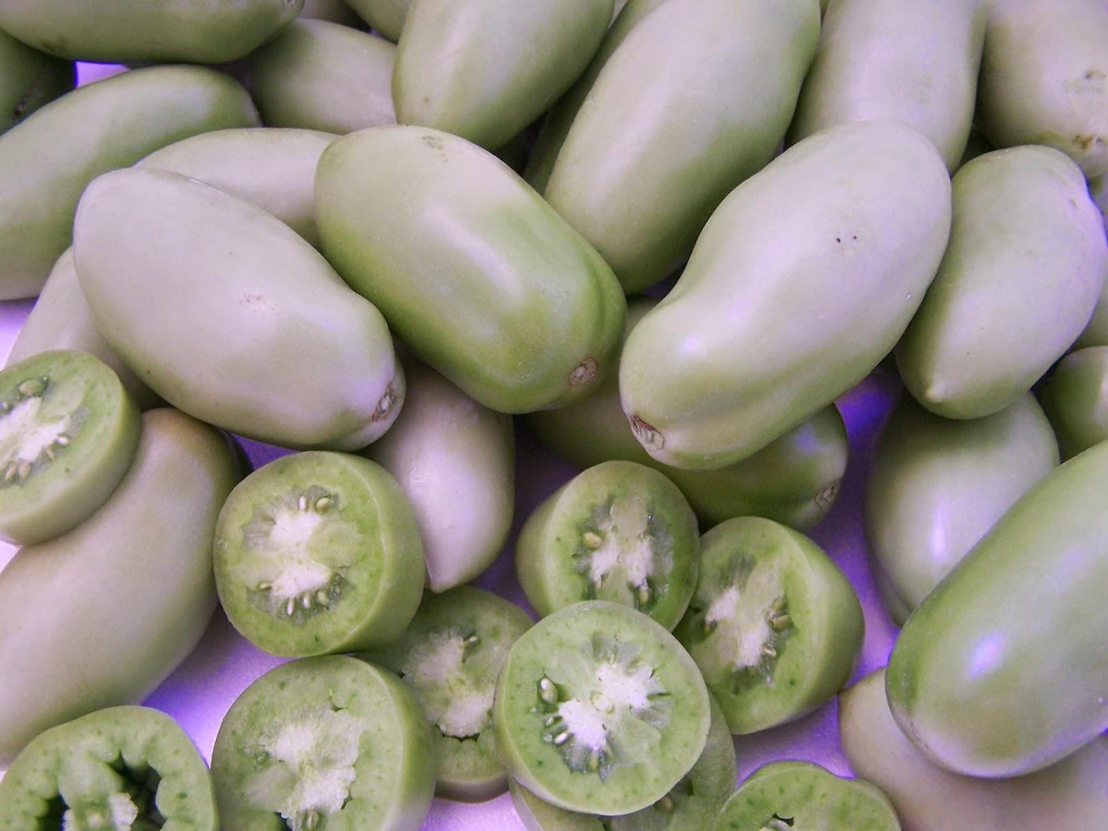 Mermelada de tomate verde el Ababol