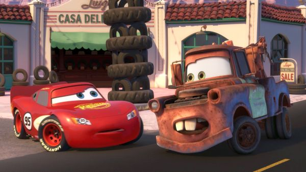 You remember, Lightning McQueen Hawk!
