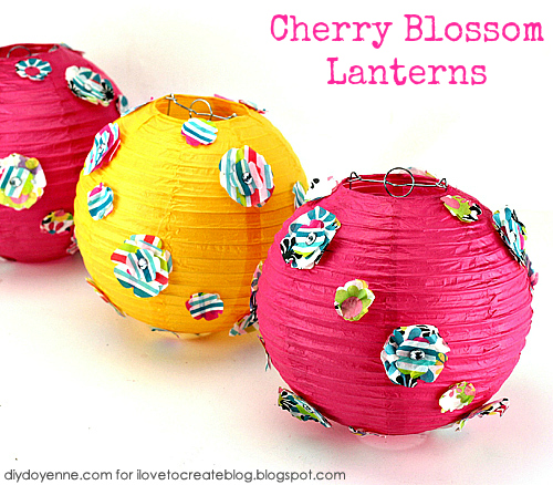 Ilovetocreate Blog How To Decorate Chinese Lanterns