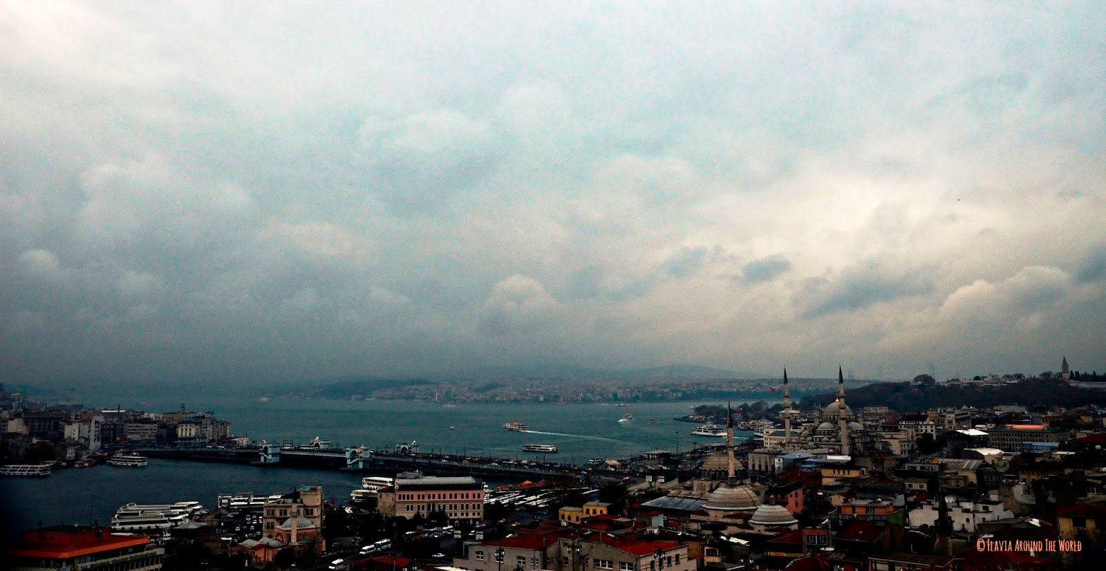 Vista de Estambul