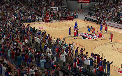 NBA 2K13 All-star Game Crowd Fix