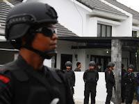 Terduga Teroris di Balong Diamankan Tim Densus 88