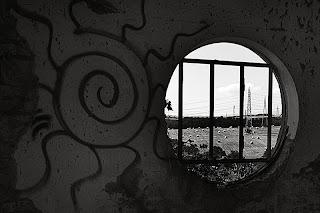 Da una finestra della Marcigliana