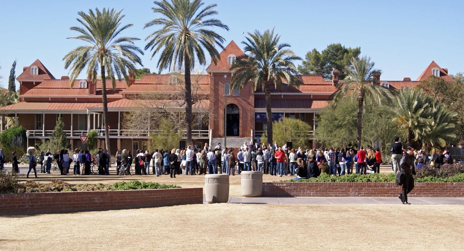 Young university of arizona tits