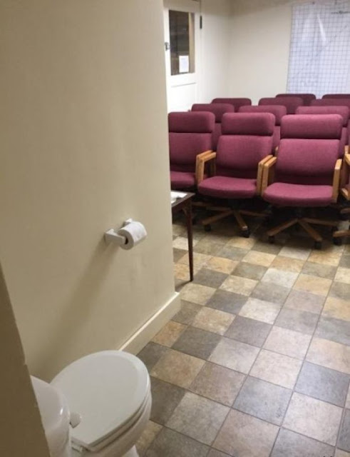 Toilet In The Meeting Room