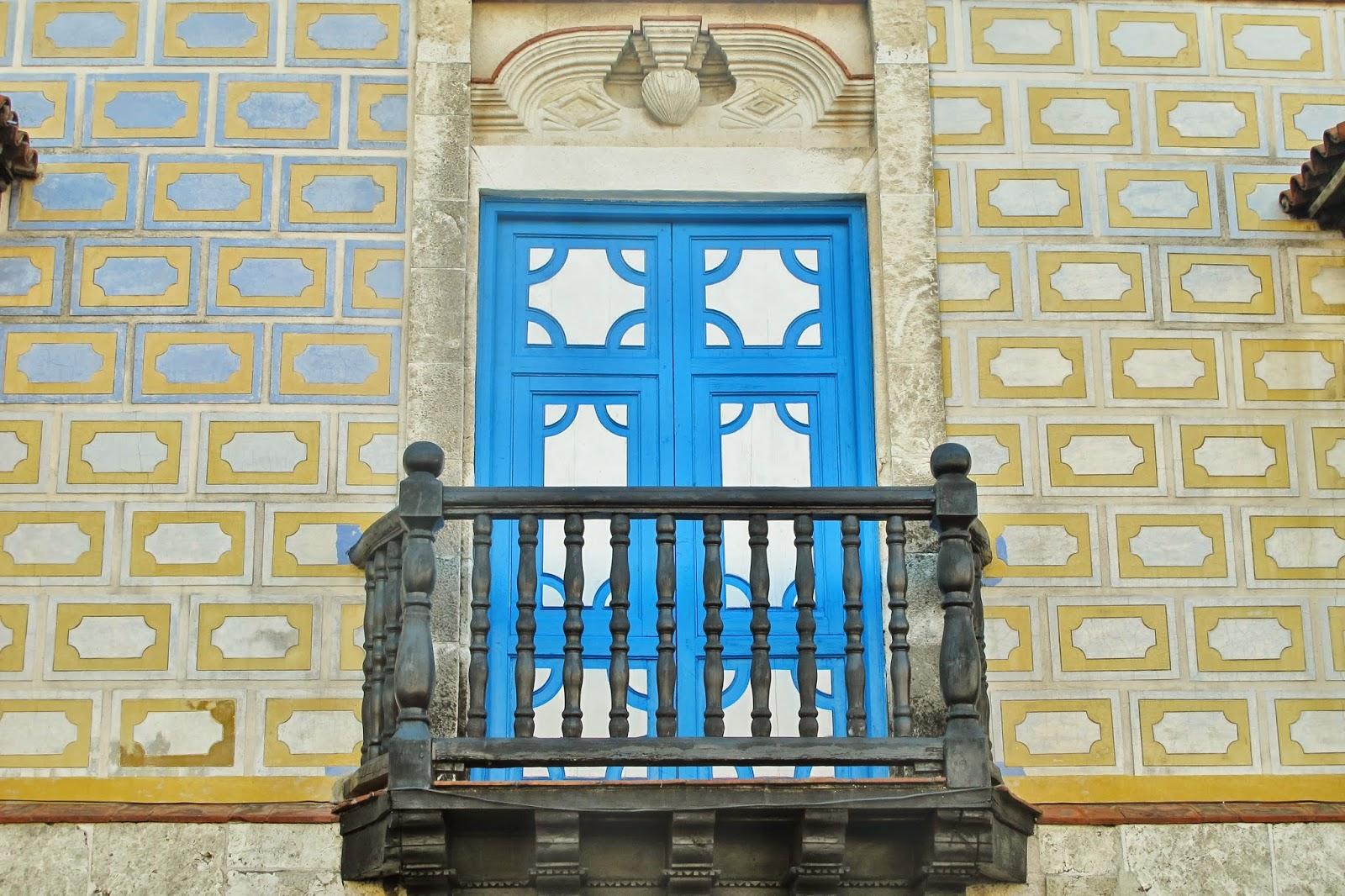 Janela em estilo mudéjar, em Santiago de Cuba