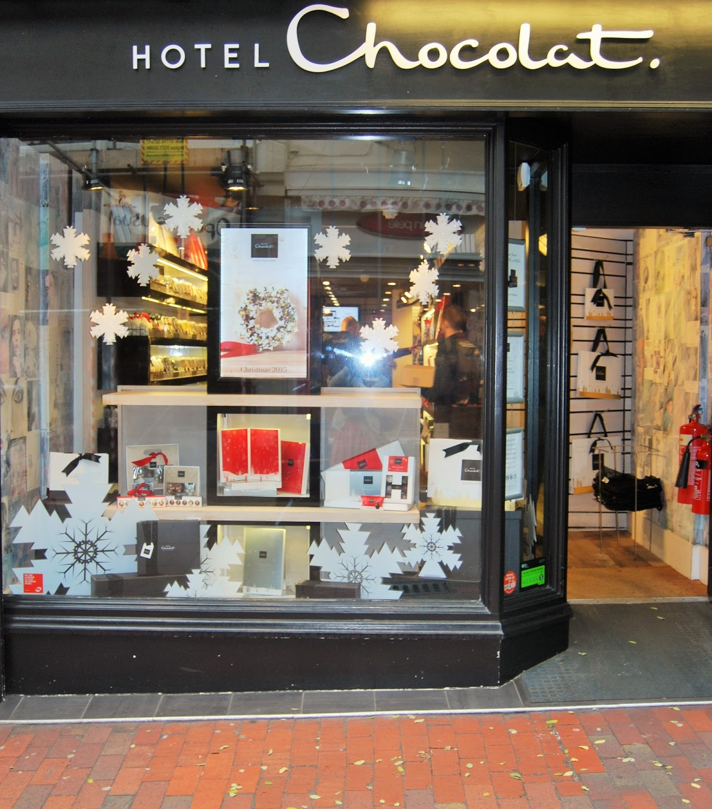 Brighton shop, Hotel Chocolat Christmas Cracker Giveaway, photo by Modern Bric a Brac