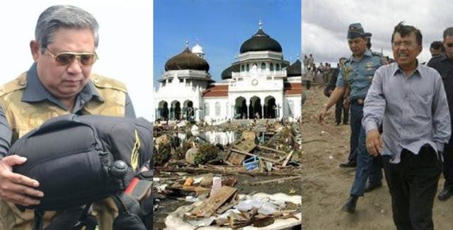 Pelajaran Bagi Pemimpin: Tanggap Darurat SBY dan JK Saat Bencana Tsunami Aceh