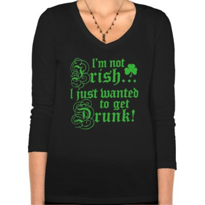 I'm not Irish I just wanted.. - Funny St Patricks Day Tee
