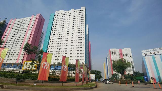 Lokasi yang Strategis dari Apartemen Green Pramuka City