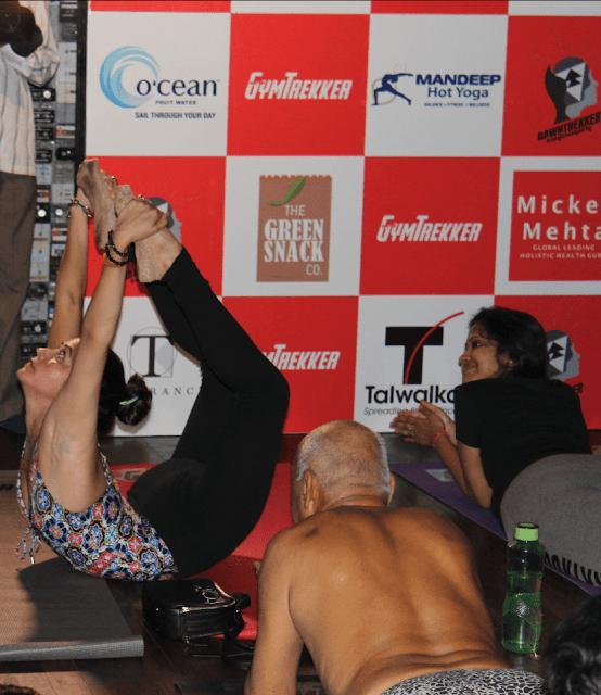 GymTrekker organizes India's Biggest morning Fitness Party