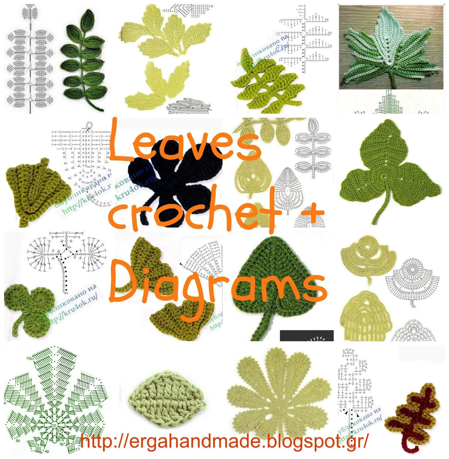 Free Leaf Crochet Pattern Diagram Molecular Orbital Energy Level For No Ergahandmade Leaves 43 Diagrams Video