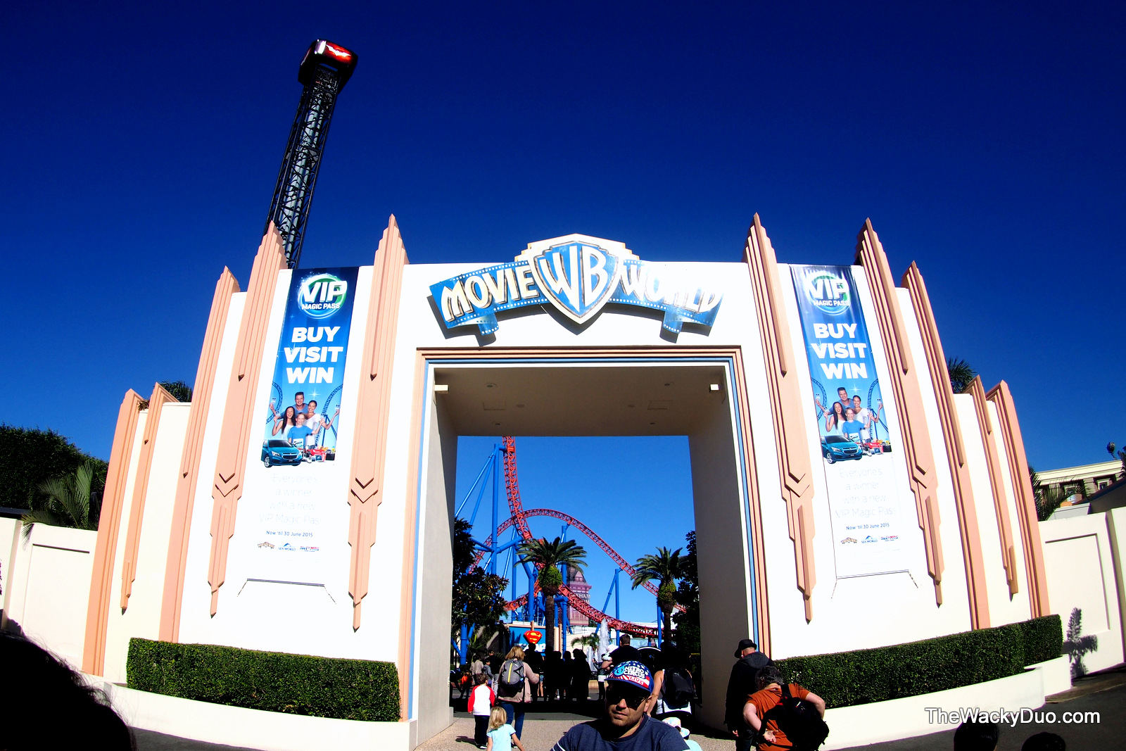 warner brothers movie world gold coast for kids the