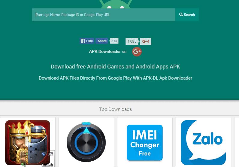 مواقع لتنزيل تطبيقات والعاب اندرويد بصيغة Apk من متجر بلاي