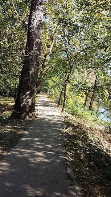 Scenic, Footpath, Yambol, Yambol Tundzha River