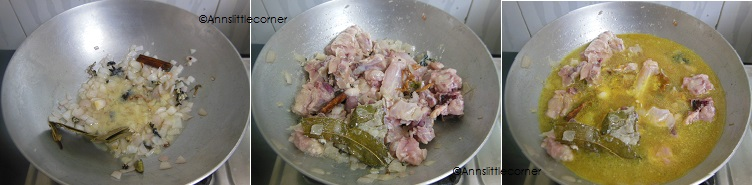 How to make Chicken Kurma- Step 3