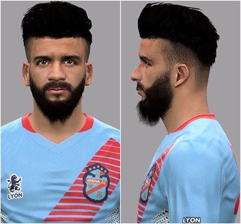 PES 2017 Lucas Wilchez (Arsenal de Sarandí) Face by LF Facemaker