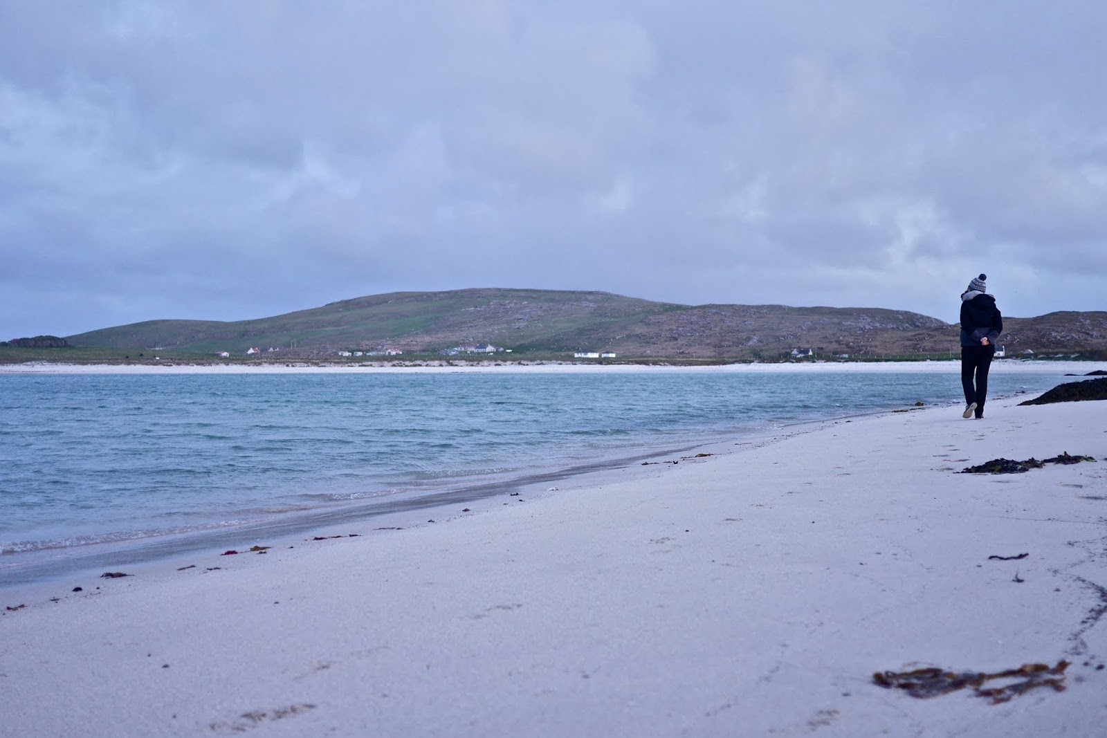 Scurrival campsite beach in Barra  by Cal McTravel of www.CalMcTraves.com