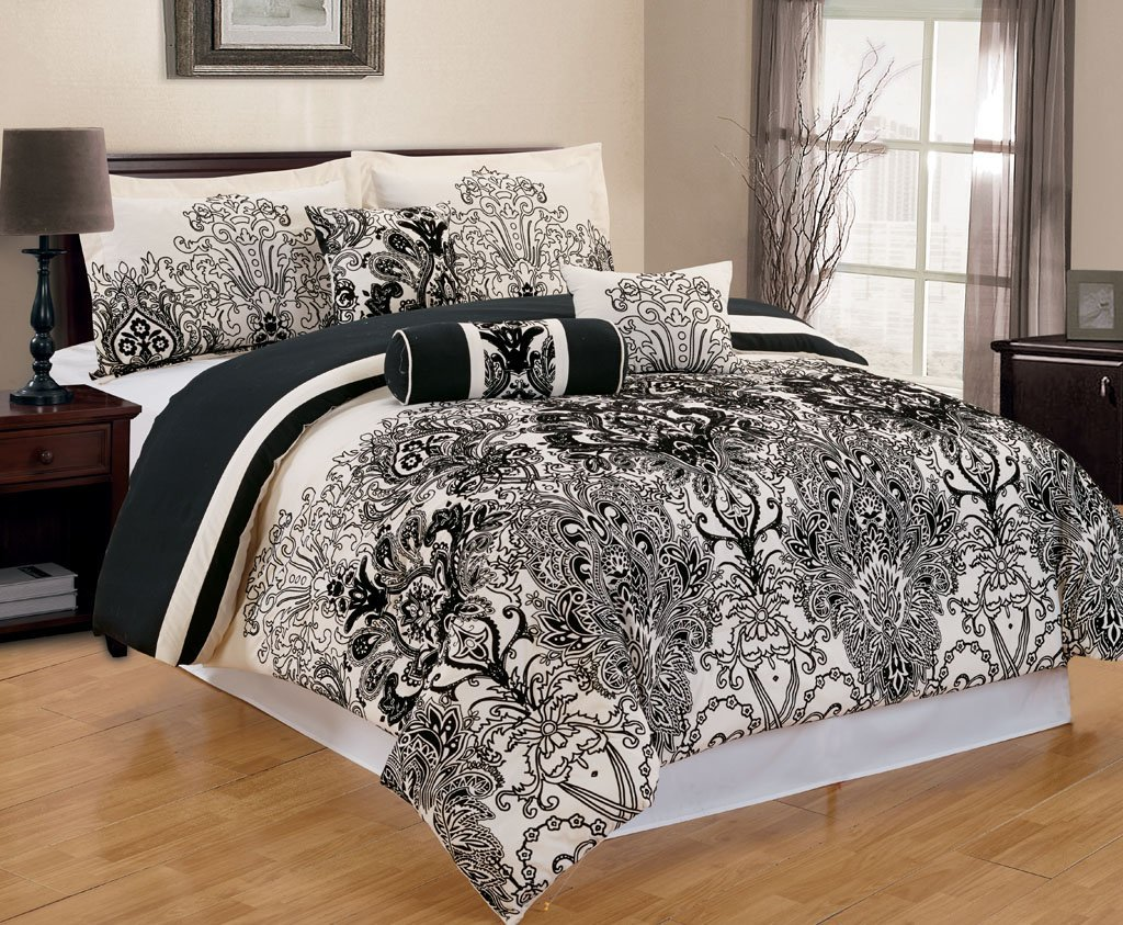 set kohls king queen ivory comforter size stripe