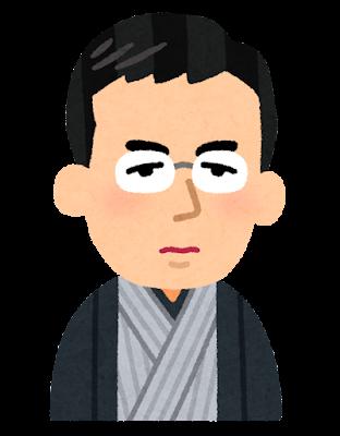 滝廉太郎の似顔絵イラスト