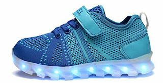 Slevel Kids Sneakers - Multicolor LED Shoes
