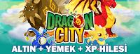 Dragon City Altın, Yemek ve Seviye Hilesi
