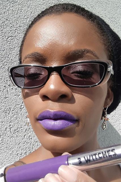 Pretty Zombie Cosmetics '3 Witches' swatch www.modenmakeup.com