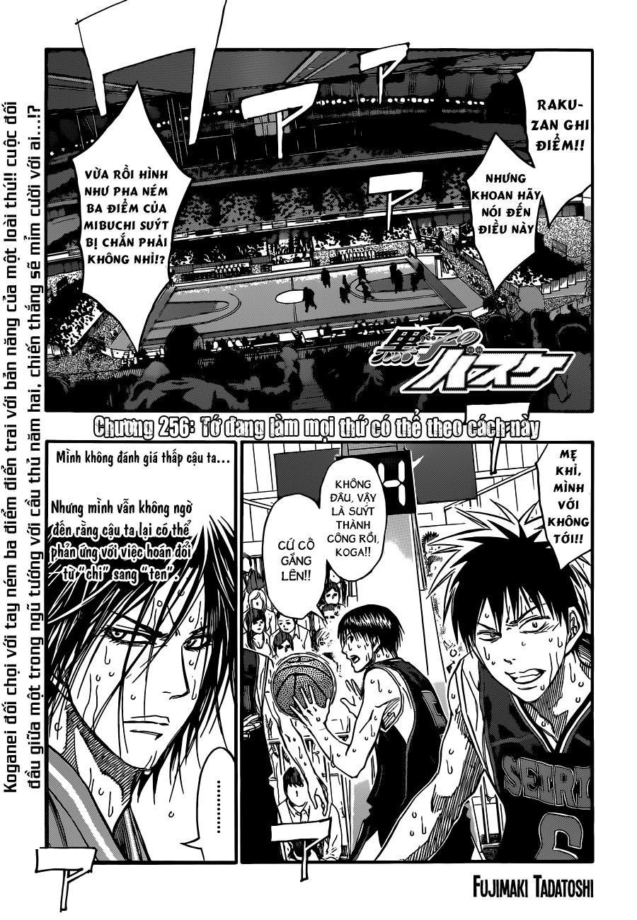 Kuroko No Basket chap 256 trang 1
