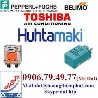 Đại Lý - Pepperl + Fuchs , Toshiba , Huhtamaki , Belimo