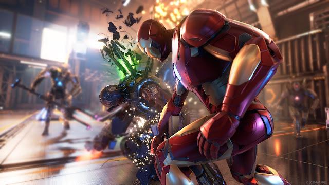 marvel's avengers war table news update, PS5, online co-op gameplay, release date, iron man, hawkeye, easter eggs, teaser