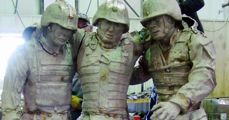 Combat Ptsd News Wounded Times Two Statues Recall