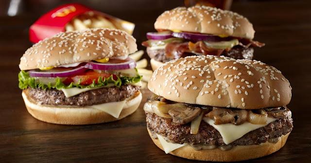 Hambúrguer do McDonald's em Orlando