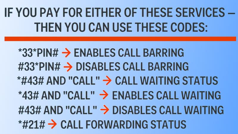 Hidden iPhone Secret Codes