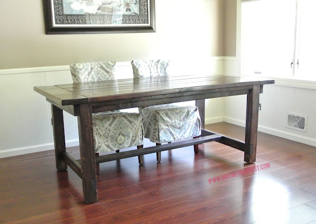 how to, wood, dining, table, diy, farmhouse, handmade