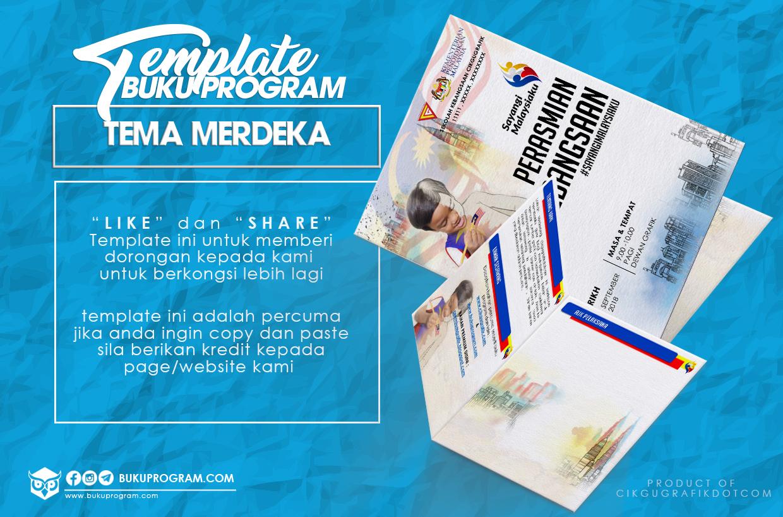 template brosur hari kebangsaan merdeka