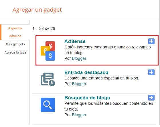 adsense blogger